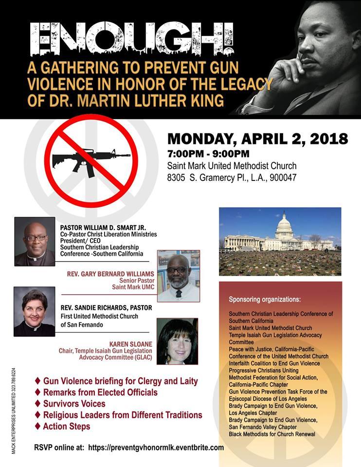 mlk gun violence
